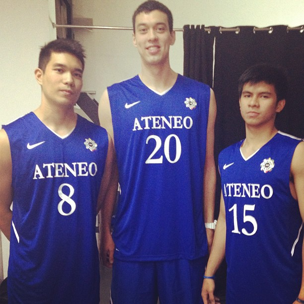 Photo from Kiefer Ravena's Instagram .]