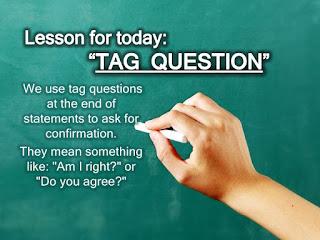 Penggunaan question tag
