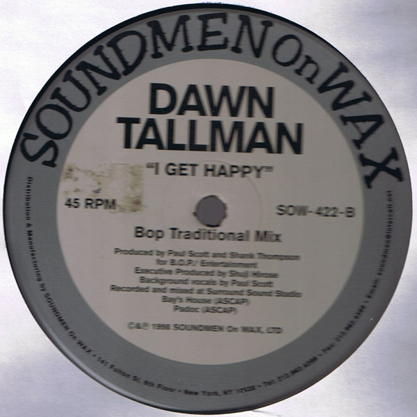 Uplifting garage house music dawn tallman i get happy for Garage house music