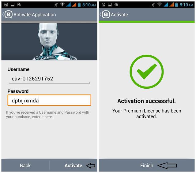 ESET Mobile Security & Antivirus Premium v3.2.4.0 Key Is