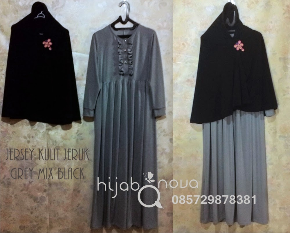 Gamis Model Terbaru HijabqNova