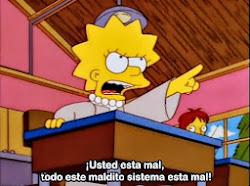Lisa tiene la POSTA