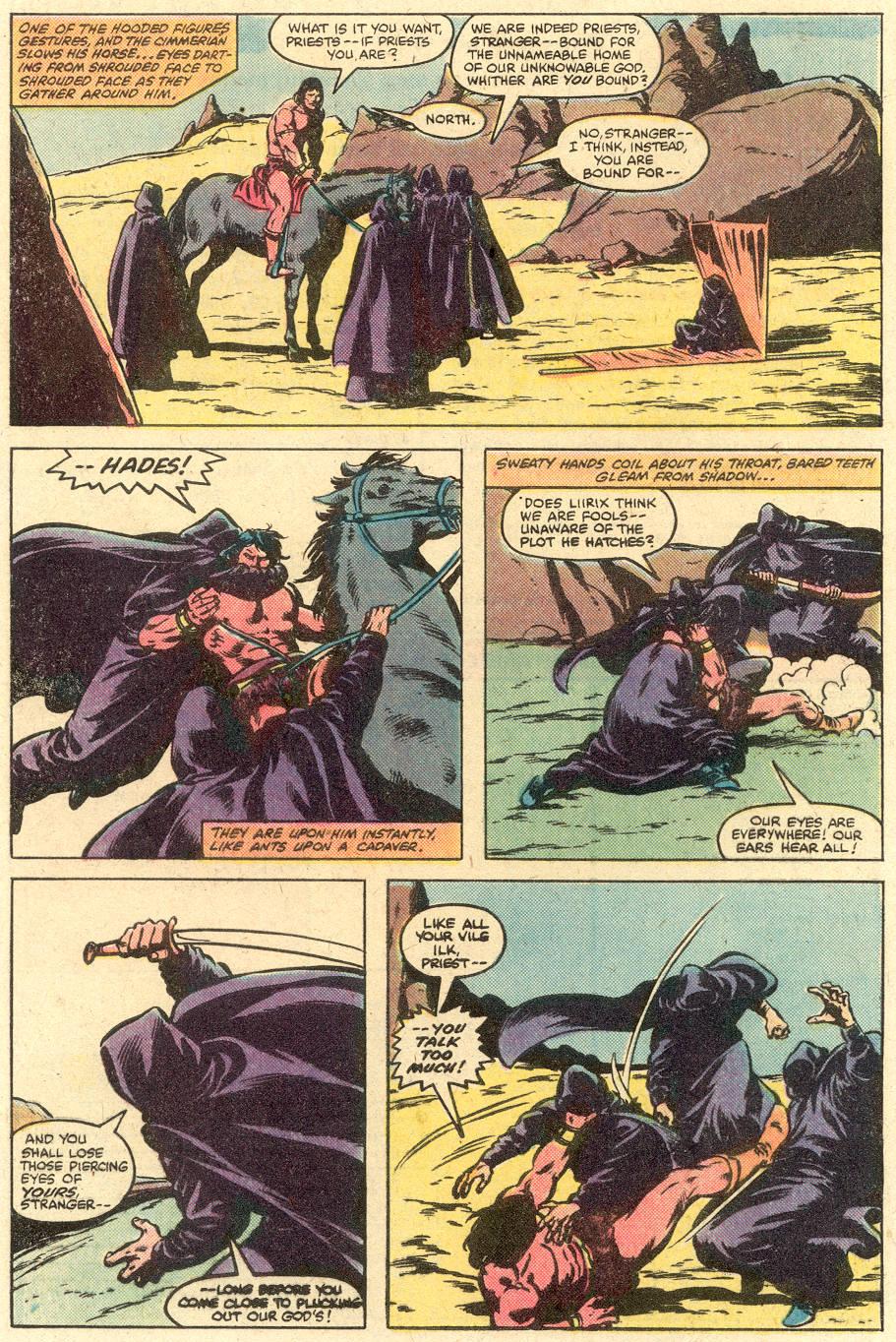 Conan the Barbarian (1970) Issue #126 #138 - English 5