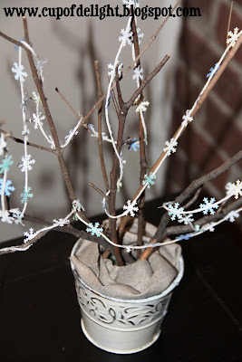 Mini Snowflake Tree