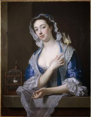 Margaret ('Peg') Woffington by Jean-Baptiste van Loo, 1738