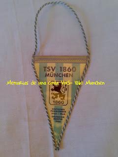 1860 Munchen, bandera, flag, banderín,