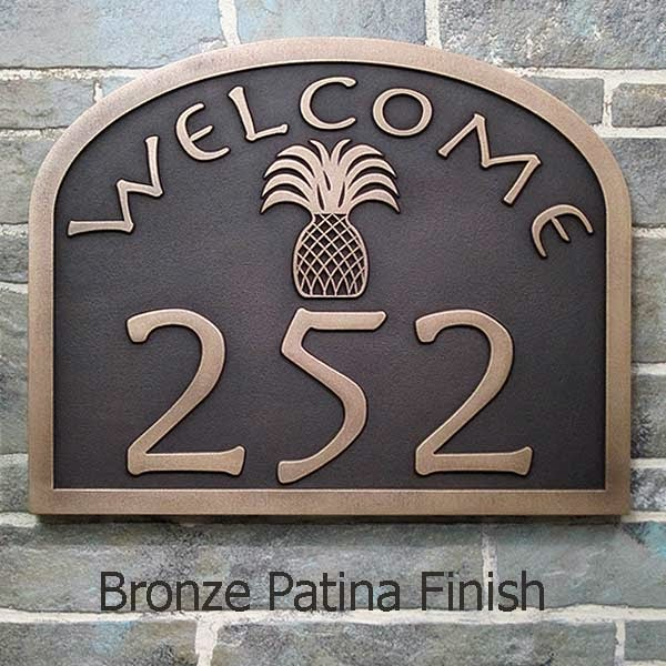 pineapple welcome address plaque design Ideas