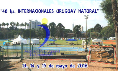 Ultramaratón 48 - 24 - 12 y 6 horas en pista (Montevideo - Uruguay, 13a15/may/2016)
