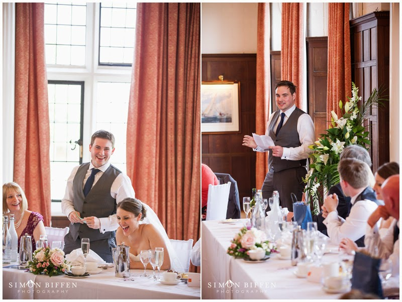 Speeches at Taunton School Wedding