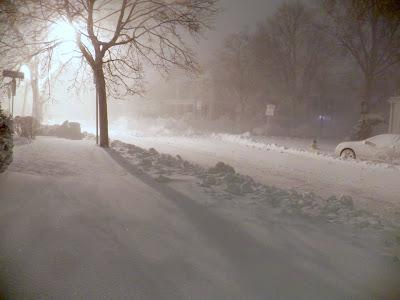 Snowpocalypse 2013 - Wollaston, MA