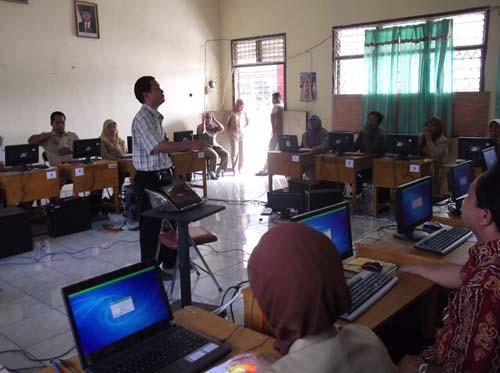 Pelaksanaan Ukg Online 2012 Kabupaten Musi Rawas