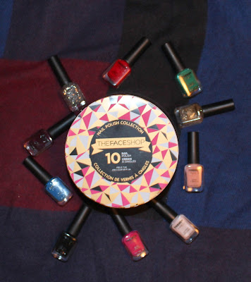 THEFACESHOP Nail Polish Collection