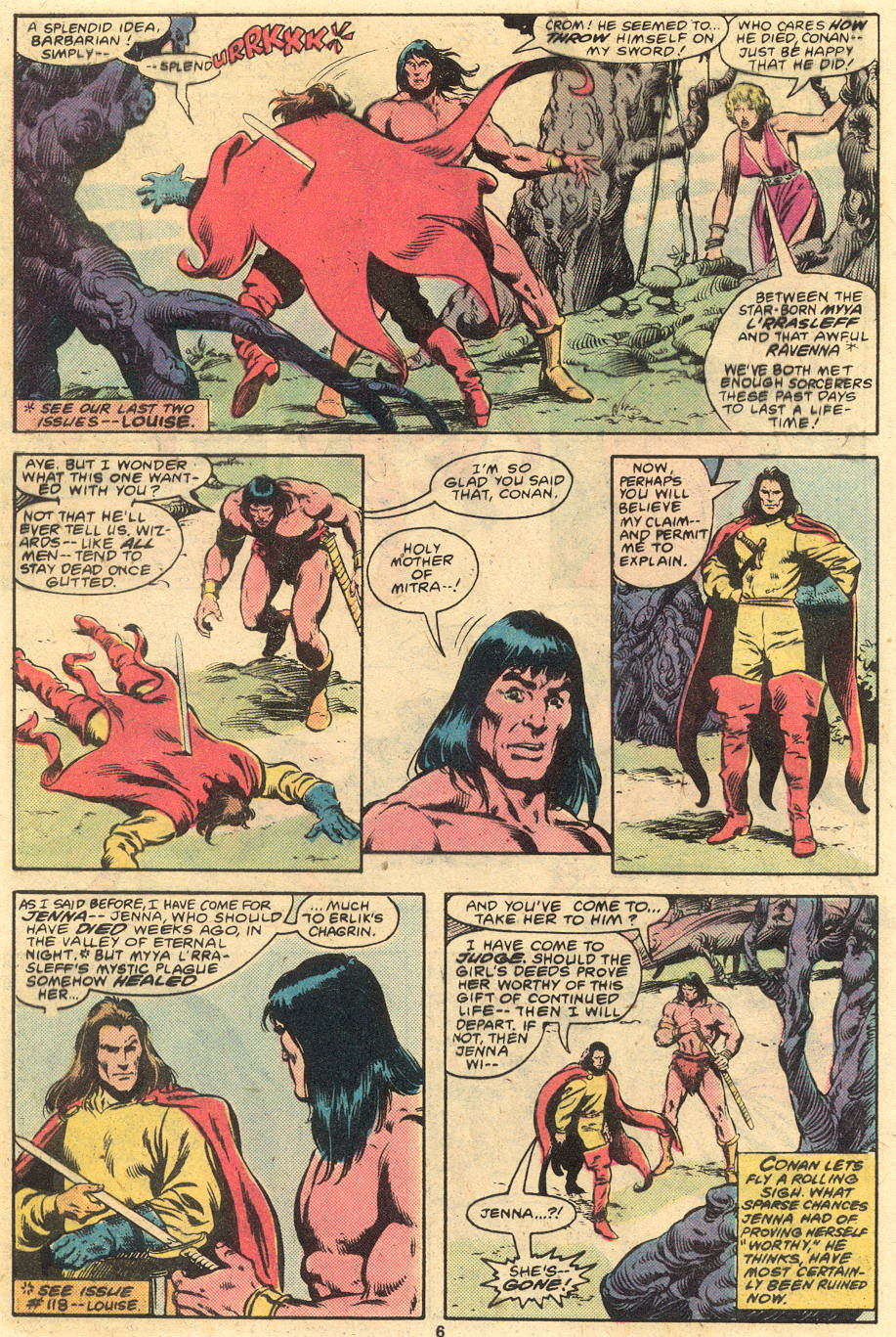 Conan the Barbarian (1970) Issue #120 #132 - English 6