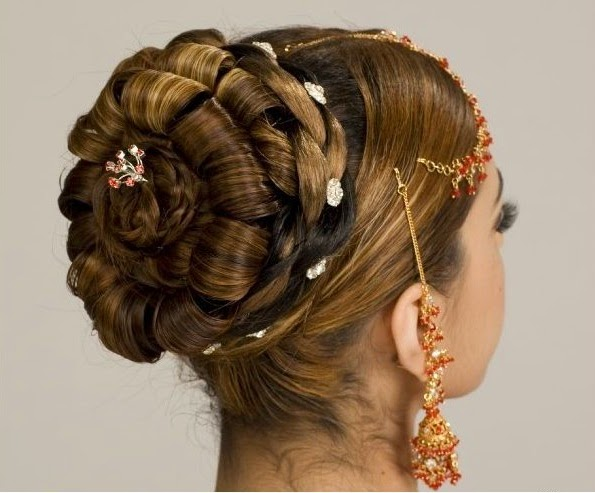 Latest Bridal Casual Party Hair Styles New Fashion Hair