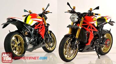Honda Tiger, Jadi Monster 796 Special Edition Valentino Rossi