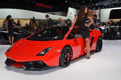 Frankfurt Auto Show 2011 Lamborghini Gallardo Special Edition