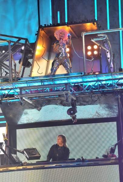 Nicki Minaj & Drake no American Music Awards 2011