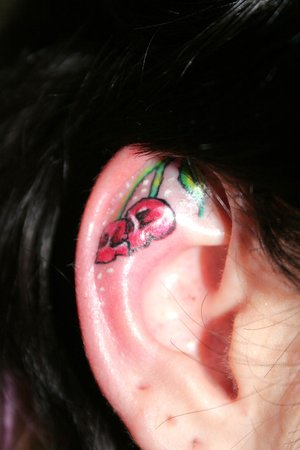 Mighty Lists: 10 cool ear tattoos