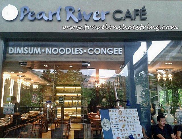 Pearl River Café Trinoma facade