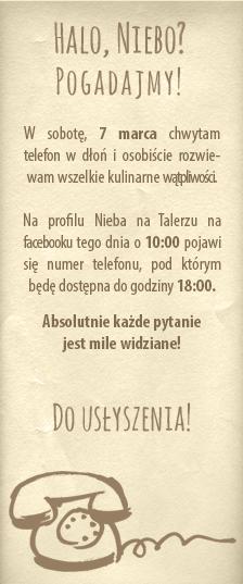 POGOTOWIE KULINARNE :)
