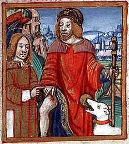 Saint Roch, Patron Saint of Dogs