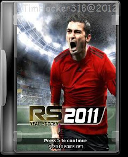 Game HP Jar Full All Touch Screen : Real Football 2011 240x400 | 812 Kb