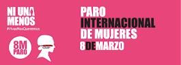 PARO INTERNACIONAL DE MUJERES: 8 DE MARZO DE 2017