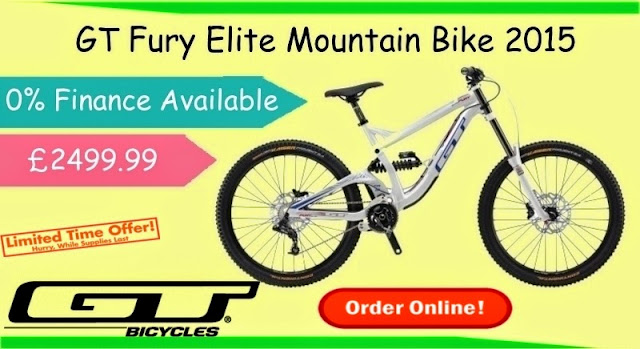 2015 Mountain Bike: GT Fury Elite