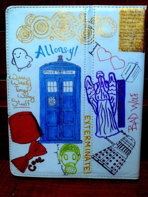 Doctor Who iPad cover by What's in Our Lunch Bags? @krquick