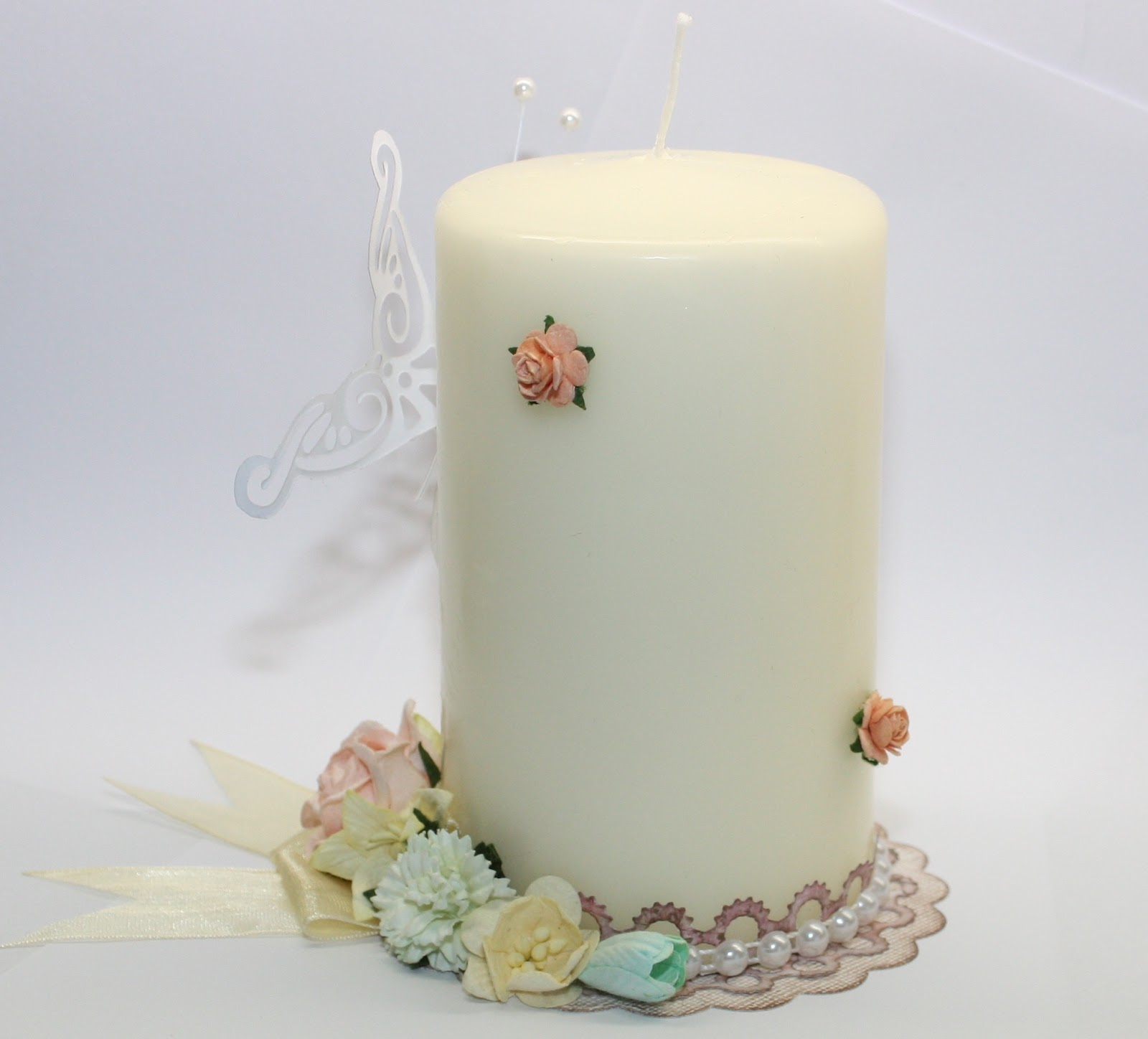 A perfect waste of time candle decoration for Candle decoration with waste material