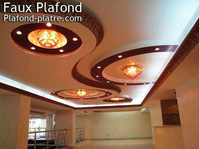 Faux plafond d coration faux plafond lumineux 2015 - Faux plafond suspendu lumineux ...