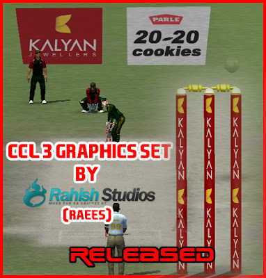 CCL 3 GFX Set for EA Cricket 07