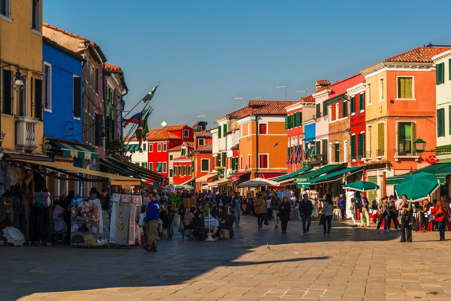 Туристическая Венеция