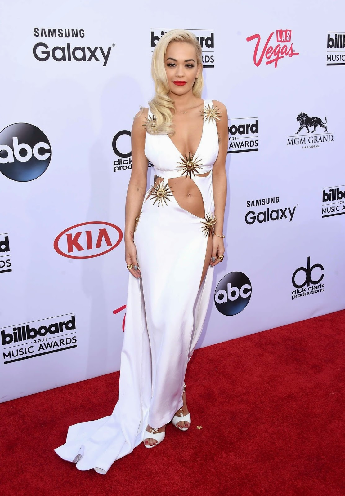 Singer, Songwriter, Actress @ Rita Ora at 2015 Billboard Music Awards in Las Vegas