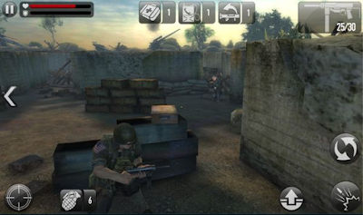Download Frontline Commando D-Day Mod Apk Versi 3.0.4 Android