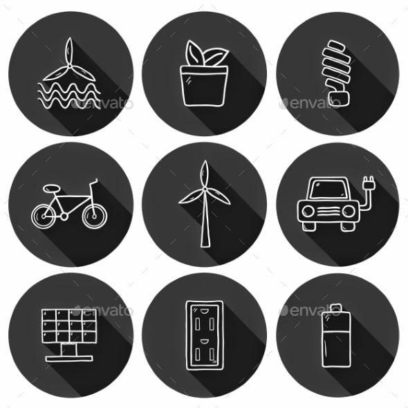 energy resource icons