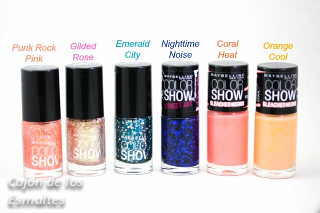 Esmaltes Maybelline Color Show