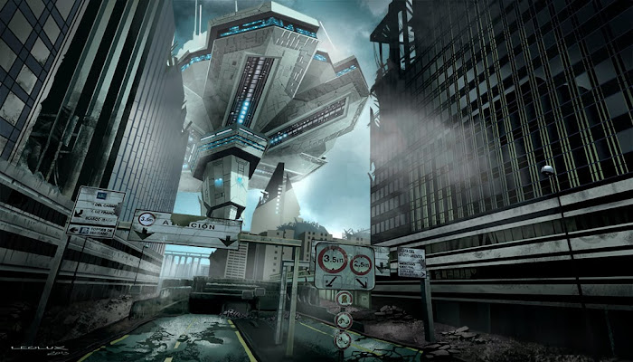 leolux, nave espacial, spaceship, sci fi, ciencia ficcion, dibujo, draw,