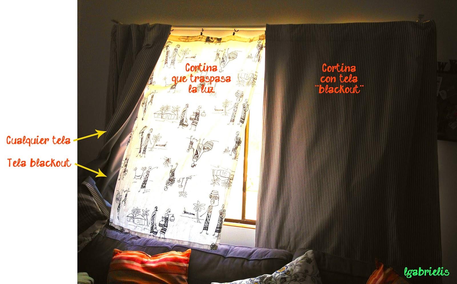 Lgabrielis diy cortinas para que no pase la luz - Que cortinas poner en la cocina ...