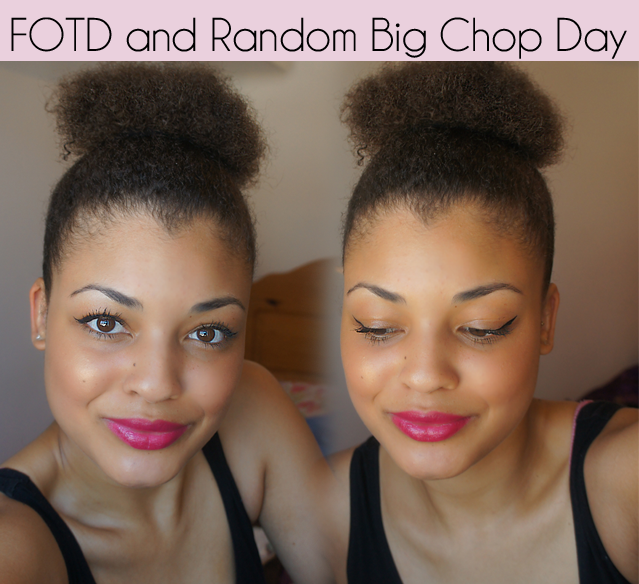 Big Chop Natural Hair 14 Months Transitioning