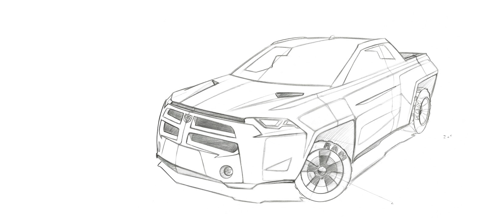 dodge ram final sketches u0026 renderings dr3 viscom