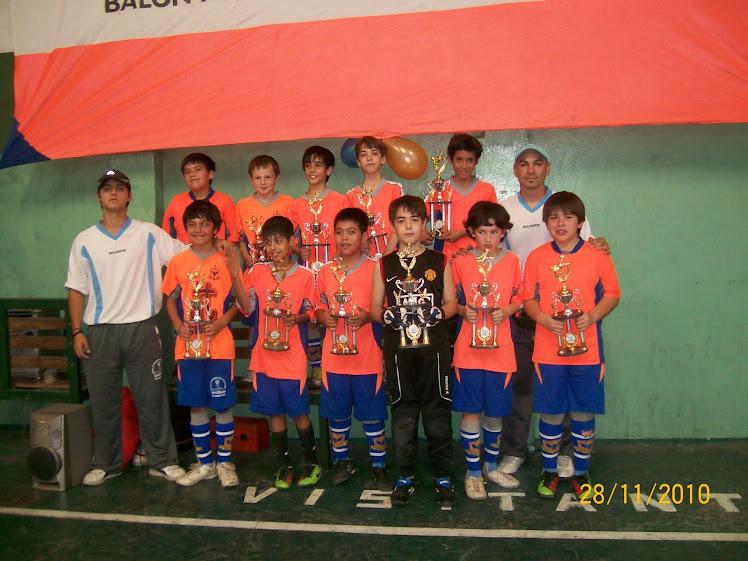 ENTREGA DE TROFEOS 2010
