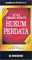 toko buku rahma: buku kitab UU hukup perdata, pengarang soedharyo soiman, penerbit sinar grafika