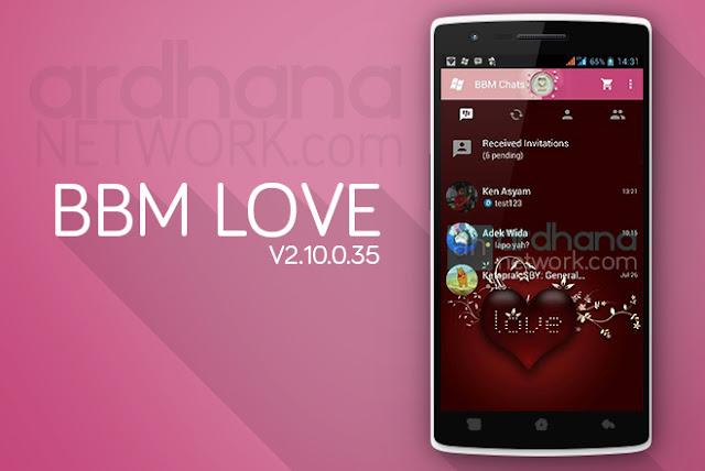 BBM Love - BBM Android V2.10.0.35