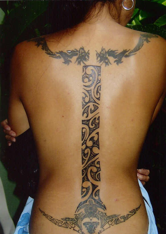 Labels Samoan Tattoos Style Picture