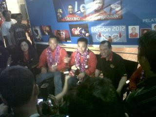 Triyatno dan Eko Yuli Sudah Tiba di Jakarta