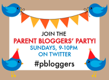 #pbloggers badge