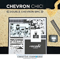 New! Double Chevron Border Maker Cartridge