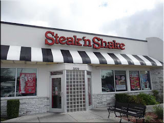 Steak 'n Shake burger restaurant