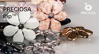 прессованные бусины Пип Pip™-pressed beads